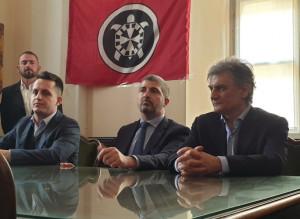 CasaPound a Cuneo: 'Pronti a sottoscrivere i valori della Costituzione, ma non dell'antifascismo'