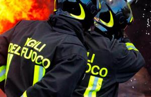 Incendio in una cantina a Dronero