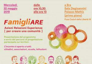 Incontro a Bra sul progetto 'FamigliAre'