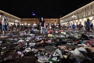 Sono arrivate le prime condanne per il caos di piazza San Carlo