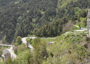 Stanotte la Rd 6204 della valle Roya chiusa tra Fontan e Saint Dalmas