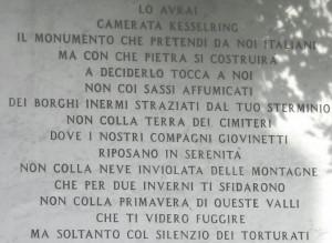 'È normale passare davanti all'epigrafe di Calamandrei per presentare un partito neofascista?'