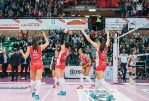 Cuneo Granda Volley, il bilancio di una stagione esaltante