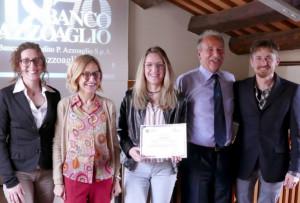 La sedicenne di Priero Daria Parodivince laBorsa di studio Intercultura del BancoAzzoaglio