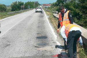 Consegnati i lavori di asfaltatura della provinciale 589 nel tratto Saluzzo-Staffarda