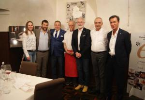 'A Cena con il Cuoco' ha fatto tappa al ristorante 'Due Palme' di Centallo