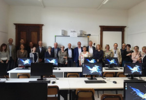L'Istituto Comprensivo di Cherasco inaugura la nuova aula informatica