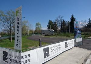 Cuneo, l'area camper del Parco fluviale Gesso e Stura chiude per lavori di rinnovamento