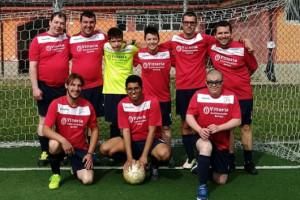 Calcio, 'Amicosport' d'argento a 'Tuttinelpallone'