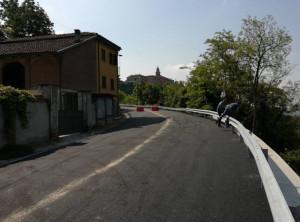 Conclusi i lavori sulla strada provinciale 32 a Diano d'Alba in località Tre Cunei