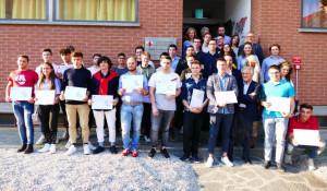 Premiati i 28 studenti della provincia di Cuneo vincitori del concorso 'Progettare e Lavorare in Sicurezza'