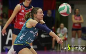 Pallavolo A2/F: Simona Mandrile vestirà ancora la maglia della Lpm Bam Mondovì