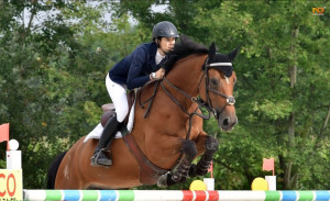 Equitazione: la carrucese Sara Bracco vittoriosa nel salto ostacoli a Sanremo