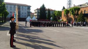 Cuneo, l'Arma dei Carabinieri in festa per i 205 anni
