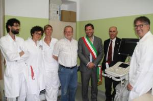 La Fondazione Sordella dona un nuovo ecografo all'ospedale di Fossano
