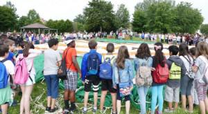 Oltre 200 alunni monregalesi 'a scuola di mongolfiera' per un giorno
