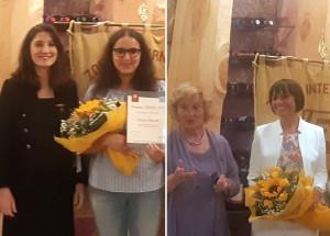 Zonta Club Cuneo, premiata la vincitrice del concorso 'Young Women in Public Affairs'