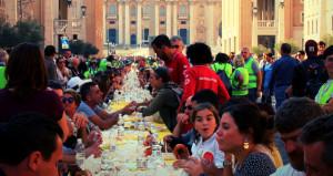 Anche a Saluzzo la 'Tavolta Italiana Senza Muri' organizzata dalla Caritas