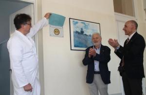 Arredi e attrezzature per l'ospedale di Fossano grazie a una donazione della Società Operaia Mutuo Soccorso