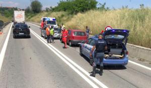 Incidente sul raccordo autostradale di Fossano