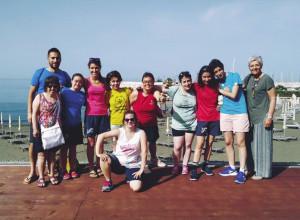 Le ginnaste cuneesi di Amico Sport protagoniste in Campania