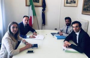 Mercatone Uno: Alberto Cirio e l'assessore Chiorino al tavolo di crisi del MISE