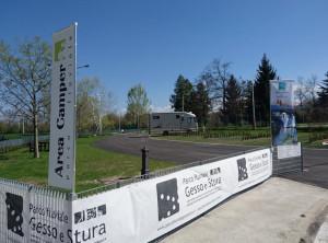 Riapre l'area camper del Parco Fluviale a Cuneo: ospiterà otto veicoli e sarà a pagamento