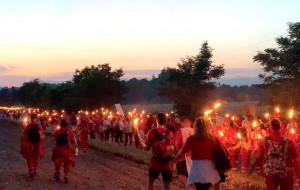 Oltre 70 volontari cuneesi a Solferino per la fiaccolata della Croce Rossa Internazionale