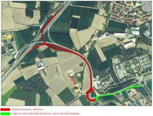 Alba, al via l'asfaltatura e il consolidamento della rotatoria dello svincolo sud-ovest e di corso Nebbiolo
