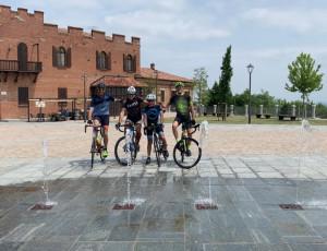 Sabato parte da piazza Santarosa la pedalata 'Cuore in Mente' Savigliano-Strasburgo