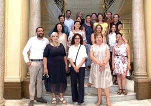 Prima riunione del Comitato di Pilotaggio del progetto Pays-Ecogetiques, nell'ambito del Piter 'Pays-Sages'