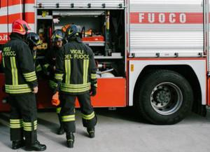 Busca: incendio in via Conti della Morea