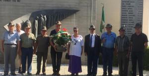 Gli Alpini ricordano Angelo Brero a Bra a vent'anni dalla sua scomparsa