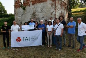 Consegnati i Contributi della 'eVISO GO' alla Delegazione FAI di Saluzzo