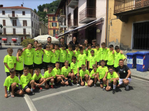 Conclusa la prima settimana del Camp Estivo del Caraglio Calcio