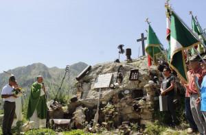 In 300 al pellegrinaggio dell'Associazione Nazionale Alpini a Sant'Anna di Vinadio (FOTO)