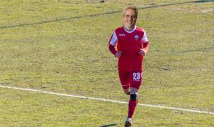Nella partita del Cuneo Calcio si scalda... il sindaco Borgna