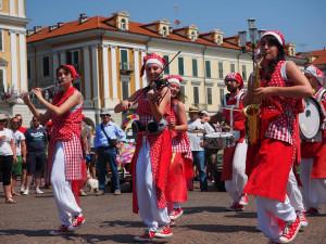 Sant'Anna di Valdieri, giornata in musica con Prismabanda Street Band