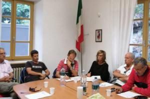 Sopralluogo della Provincia per riattivare il collegamento viario tra Monesi e Briga Alta