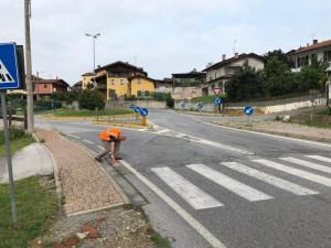 Interventi urgenti di bitumatura nella zona di Monastero Vasco