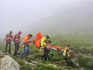 Pontechianale, soccorsa una donna dopo un malore a 2500 metri