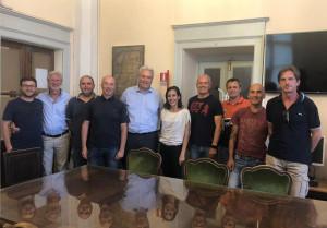 Un gruppo di allenatori del settore giovanile del Cuneo ricevuto in Comune: 'Aiutateci a ripartire'