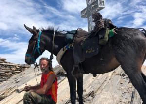 Dopo il Chersogno, il Monte Salza: nuova impresa per Silvano Degiovanni e la mula Pioggia