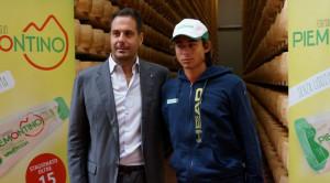 La promessa del tennis cuneese Andrea Gola ha siglato una partnership con Valgrana