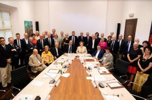 I vertici di Ubi hanno incontrato a Cuneo gli organi della Fondazione CRC