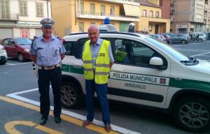 A Verzuolo il sindaco è 'di turno' con la Polizia Municipale