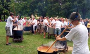 Oltre 250 partecipanti alla Festa Alpina del Gruppo ANA di Bra