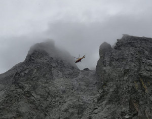 Valle Gesso: tre alpinisti bloccati sulla Cima di Nasta recuperati dal Soccorso Alpino