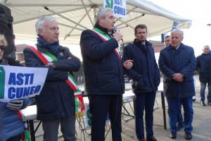 Asti-Cuneo, Borgna: 'Se sarà un'altra farsa passeremo a nuove mobilitazioni'