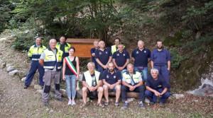 Un gruppo di volontari ha effettuato lavori di manutenzione sul sentiero 'Gabriele Landra' a Valdieri
